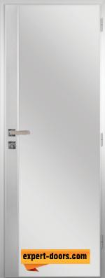 Алуминиева врата за баня Граде - цвят Орех Рибейра