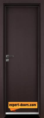 Алуминиева врата за баня Граде - Орех Рибейра