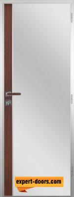 Алуминиева врата за баня Шведски дъб
