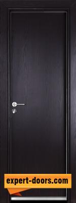 Алуминиева врата Гама, цвят Венге