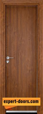 Алуминиева врата за баня Гама - Златен дъб