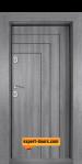 Блиндирана входна врата Сив Дъб Т-1002