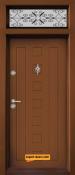 Еднокрила входна врата Т-712 Златен дъб